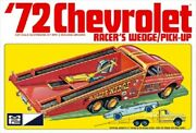 Mpc 1/25 1972 Chevrolet Pickup Truck W/racers Wedge Body Mcp885