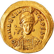 [905519] Coin, Marcian, Solidus, 450-457, Constantinople, Au, Gold