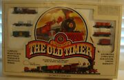 Bachman N Electric Train Set The Old Timer 4404 Locomotive W/tender 5 Cars
