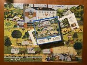 Jigsaw Puzzle Wysocki 1000 Pc Sunny Side Up 91400 Excellent Complete Poster R4