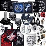 Alchemy Gothic You Choose Candles Coasters Kitchen Dish Mini Figure Gifts Trivet