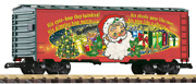 Piko G Scale 2019 Christmas Reefer Car 38894 Discontinued