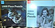 Combo Pack Astronaut In Space And Migrant Mother Press Ed Jigsaw Puzzle 1000-pc