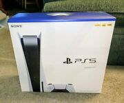 🔥ps5 Sony Playstation 5 Console Disc Version🔥brand New ✈️ In Hand Ships 2/1