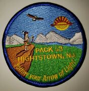 Cub Scout Pack 53 Unit Patch, Hightstown, Nj - Follow Your Arrow Of Light