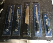 Berghoff Knife Set New In Package 5 Piece Set