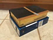 Niv Study Bible, Large Print, Black/camel, Red Letter Edition Brand New