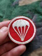 Wwii Us Army Airborne Field Artillery Paratrooper Overseas Hat Cap Patch