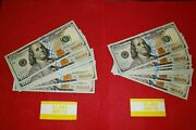 20 Consecutive 2017-a 100 F.r.n. Star Notes Bills Fed Res Uncirculated Mint