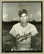 2 Orig.1950and039s 4x5 Type 1 Contact Proof - Ray Moore - 1955 Topps Images
