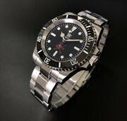 Steeldive 1954 Divewatch Nh35a Sapphire Crystal Diver Watch 200m Oman Sultan