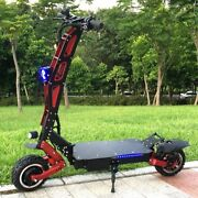 Flj Electric Scooter With 3200w/60v Motor Electric Scooter Road Big Wheel Fat