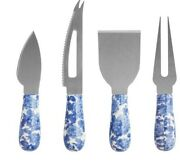 New The Pioneer Woman Heritage Floral 4 Piece Cheese Knives Set,