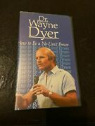 Dr. Wayne Dyer How To Be A No-limit Person Vhs Video Tape - 80's Spiritual