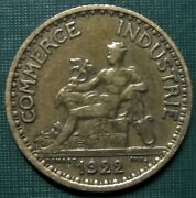 1 France 1922 One Franc 1 Dollar Issued Commerce Token 1 Coin Low Shipping