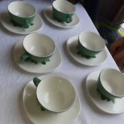 Taylor Smith Taylor Conversation Cups And Saucers 6