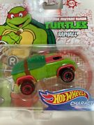 New Hot Wheels Tmnt Raphael Turtle Character Die Cast Truck Holiday Gift Idea