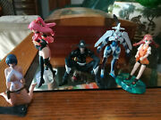 Gun X Sword Mini Figures Set Carmen 99 Wendy Van Priscilla And Dann Of Thursday
