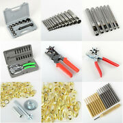 Brass / Steel Punch Set Power Punch Kit Leather Punch W/coating Hollow Punch Set