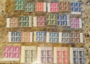 Two Different Complete Sets Wwii German 4block Stamp Collection