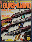 Magazine Guns And Ammo August 1977 Survival .22s Charter Arms Ar-7, Savage 24-c