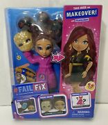 Failfix Take Over The Makeover Doll Loves.glam Surprise Fashion 2020 Toy New