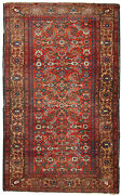Handmade Antique Oriental Rug 4.1and039 X 6.5and039 126cm X 200cm 1920 - 1c276