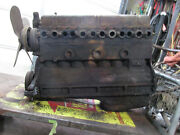 Engine Motor From A 1941 Buick Special Straight 8 Engine