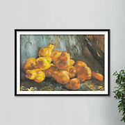 Vincent Van Gogh - Still Life With Quinces 1887 - Art Print Painting Poster