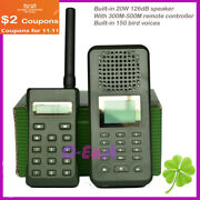 With 300-500m Remote Controller Hunting Bird Sound Mp3 Player Duck Goose Decoy
