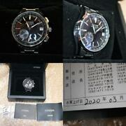 Citizen Exceed Cc3050-56f Black Satellite Wave Gps Eco-drive Solar Mens Watch