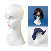 20'' Wigs Hats Hairband Jewelry Necklace Display Cosmetology Hair Mannequin Head