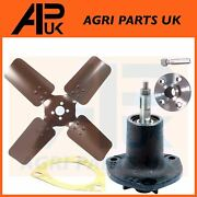 Massey Ferguson 35 To35 Ted20 Tractor Water Pump + Pulley + Cooling Fan Blade