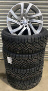Set Of 4 Discovery 5 20andrdquo Style 5011 Silver Alloy Wheels Goodyear Duratrac Tyres
