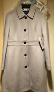 J Crew Petite Classic Lady Day Italian Double Cloth Coat Sz 12 New With Tags