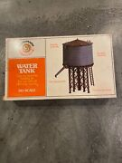 Bachmann Water Tower Kit, Plasticville, Used, Complete With Original Box