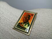 A. Phillip Randolph Black Heritage Usa 25-cent Postage Stamp Collectible Pin