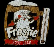 Vintage Frostie Root Beer Thermometer 1960and039s Hard Foam Like Material - Nice