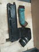 Omc Stringer Stern Drive Chevy Gm V8 Port Exhaust Manifold And Riser Freshwater