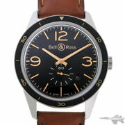Bell And Ross Vintage 123 Automatic Br123-95-sp Black Stainless Menand039s Watch[b0203]