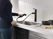 Delta Faucet Trinsic Single-handle Kitchen Sink Faucet With Pull Out Sprayer