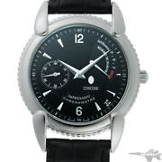 Concord Impresario Cal.655 14.g8.220 Black Dial Stainless Menand039s Watch [b0203]