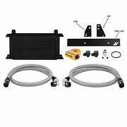 Thermostatic Oil Cooler Fits Nissan 370z 2009-2020/infiniti G37 2008-2015 Black