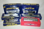 American Flyer S Scale Freight Car Lot Of 6, Nyc, Nh, Nib