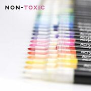 Acrylic Paint Pens For Rock Painting - 24 Extra Fine Point Markers Kit - Pen -