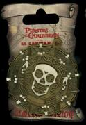 Dsf Dssh Pirates Of The Caribbean Medallion Coin Surprise Le 50 Disney Pin 48041