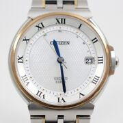Citizen Exceed Euros 35th Anniversary Model Menand039s As7074-57a From Japan N0204