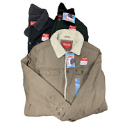 Coleman Sherpa Lined Durable Twill Shell Jacket Tear Resistant