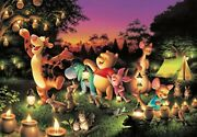 Tenyo Japan Jigsaw Puzzle Disney Winnie The Pooh Candle Party 1000pcs Japan New