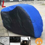 L Waterproof Dust Rain Motorcycle Cover For Yamaha Yzf R1 R6 R3 R6s Sports Bike